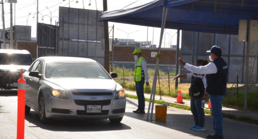 Critica embajador Landau 'actitud irresponsable' de estadounidenses al viajar a México ante COVID-19 - Tamaulipas filtro sanitario Texas frontera cruce