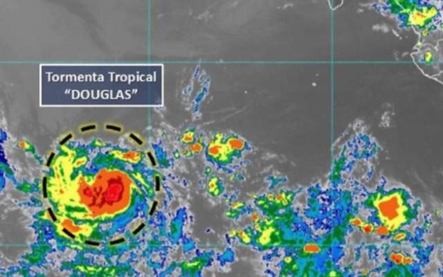 Tormenta tropical Douglas se forma lejos de costas del Pacífico mexicano - Foto de Conagua