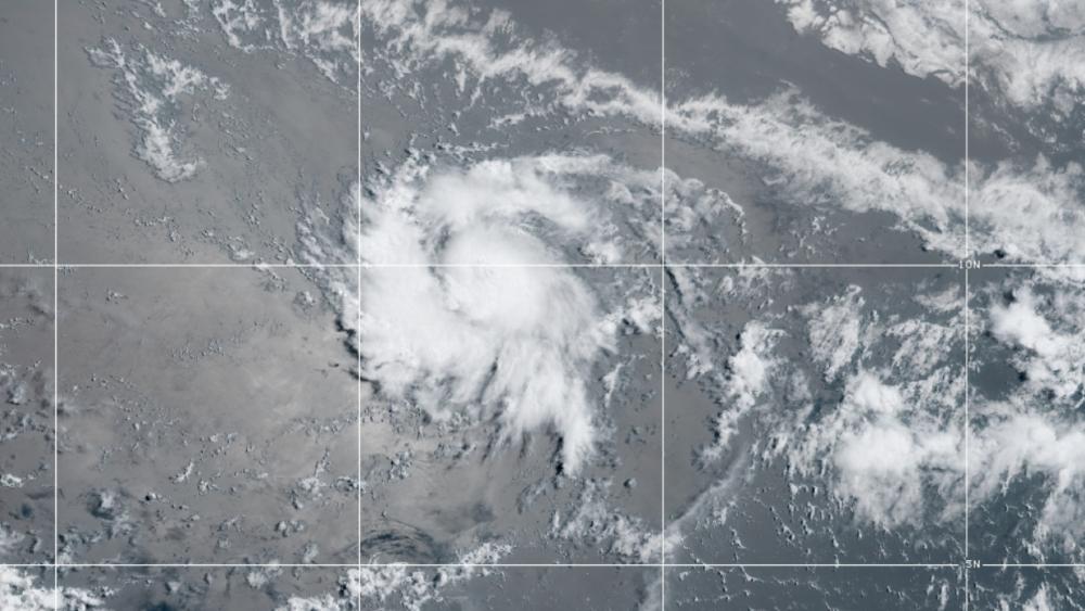 Territorios caribeños atentos al desarrollo de la tormenta tropical Gonzalo - Foto de NHC