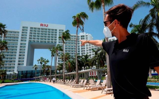 Turismo internacional cae 74.3 por ciento interanual en mayo en México - Turismo México hotel Hotel Riu Palace Península Cancún Quintana Roo