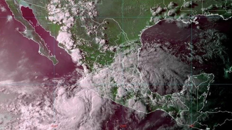 'Elida' se fortalece y se convertirá en huracán categoría 1 - Foto de SMN