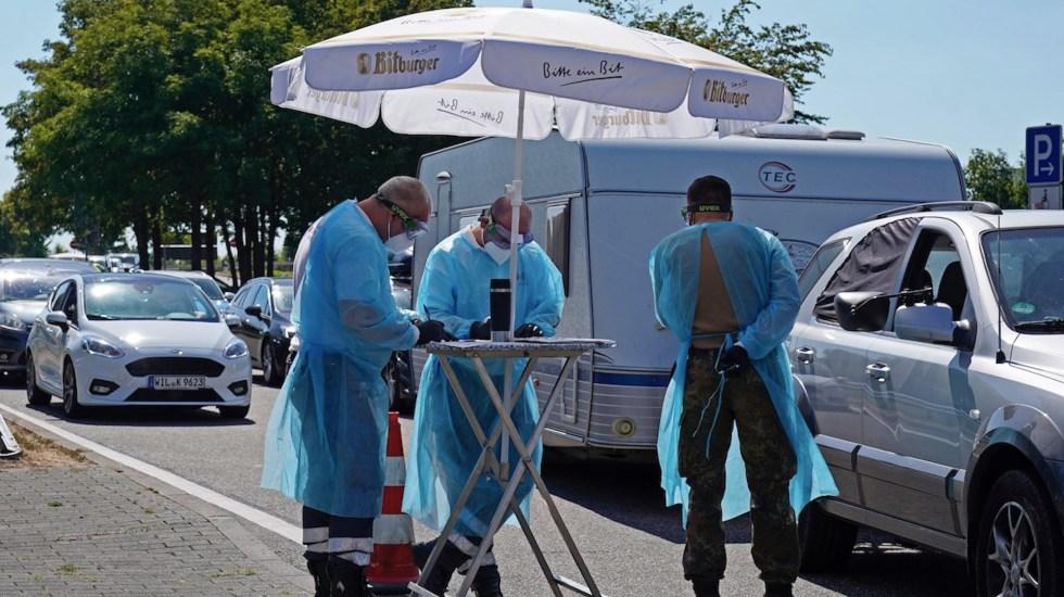Alemania contabiliza casi mil nuevos casos de COVID-19 en las últimas 24 horas - Foto de EFE