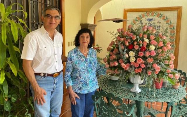Muere madre del senador Américo Villarreal - Foto de @Dr_AVillarreal