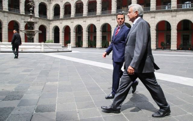 """AMLO afirma que nunca vio a Peña Nieto cuando fue opositor, """"pero no faltaron invitaciones"""" - Foto de lopezobrador.org.mx"""