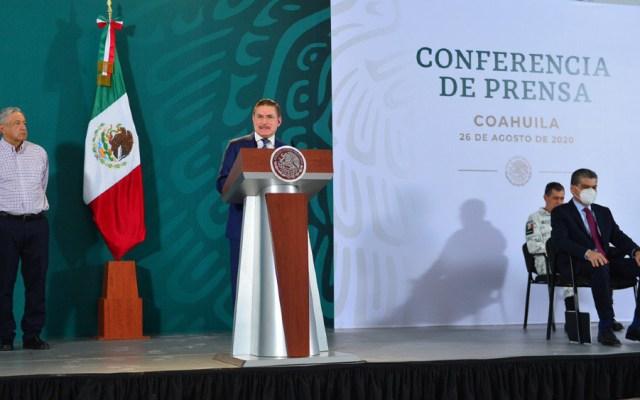 Gobernadores de Coahuila y Durango reclaman a López Obrador más recursos para atender pandemia - Foto de EFE
