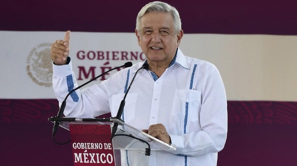 """""""Estoy muy bien, estoy al 100"""", afirma AMLO sobre su estado de salud - Andrés Manuel López Obrador. Foto de Presidencia."""