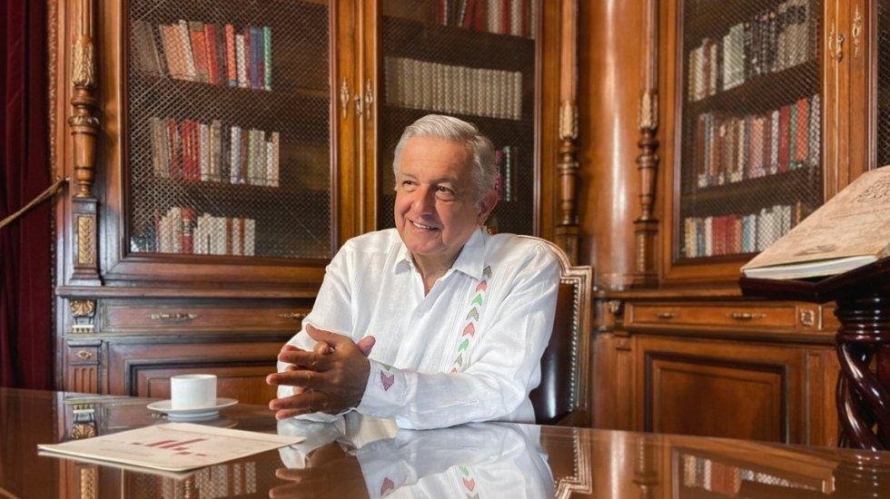 #EnVivo Informe de AMLO sobre empleo - Andrés Manuel López Obrador. Foto de @lopezobrador_