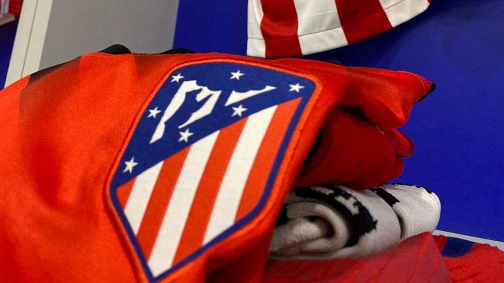 Atlético de Madrid anuncia dos casos positivos de COVID-19 a cuatro días de disputar los cuartos de la Champions - Atlético de Madrid escudo equipo futbol partido 2