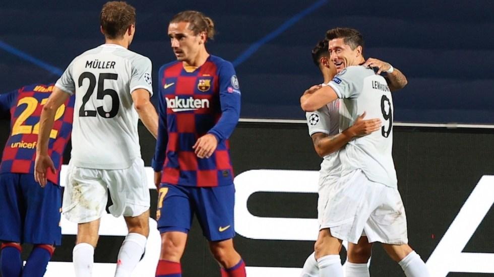 Bayern ridiculiza a un Barcelona indefenso - Foto de EFE