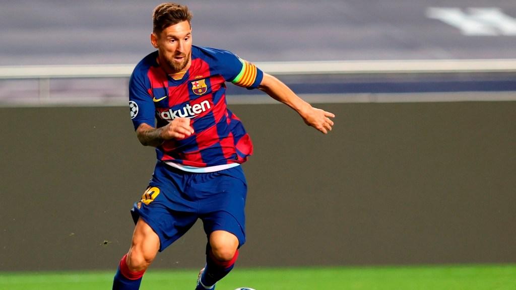 Directiva del Barcelona afirma que no contempla una salida de Messi - Lio Messi. Foto de EFE/EPA/Rafael Marchante /Archivo.