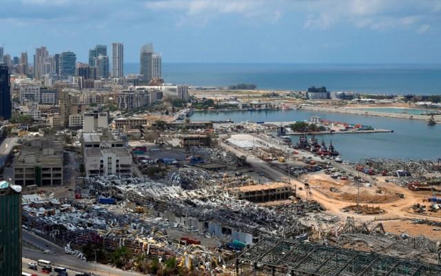 """Afirma ACNUR apoyo """"inmediato"""" a más de 100 mil afectados por explosión en Beirut - Foto de EFE"""
