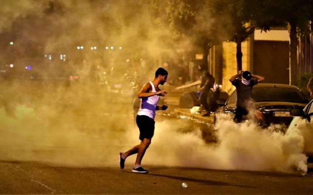 Cuatro ministerios son blanco de la ira de manifestantes en Beirut - Foto de EFE