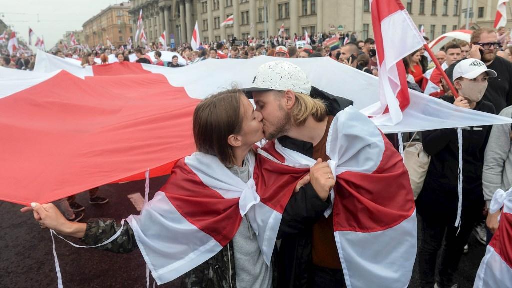 Bielorrusos regresan a las calles para exigir la renuncia de Lukashenko - Bielorrusia protestas protesta rusia 2