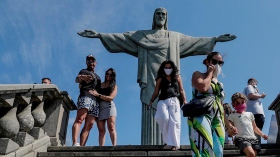 Cristo Redentor reabrió sus puertas en Río tras cinco meses - Foto de @EFEnoticias