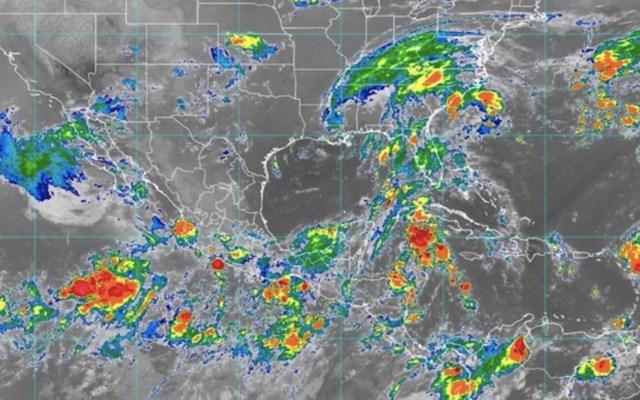 Península de Yucatán se prepara para llegada de depresión Catorce; activan Alerta Verde en Quintana Roo - Foto de SMN