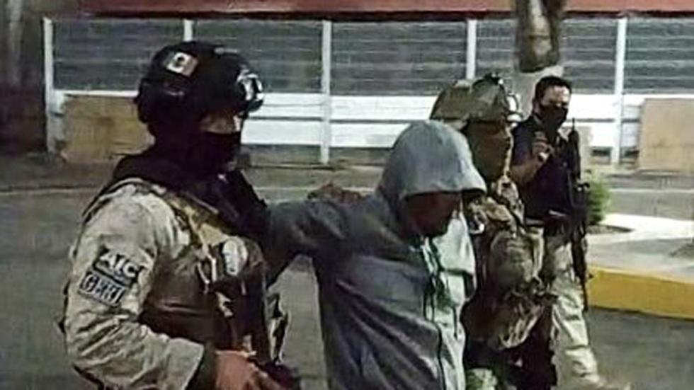 'El Marro' pide a juez trato digno y humanitario en El Altiplano - 'El Marro' tras detención en Guanajuato. Foto de FGE Guanajuato