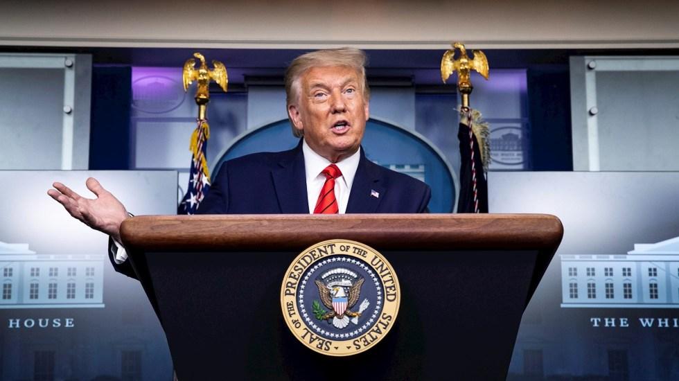 Trump defiende a joven que mató a manifestantes en Wisconsin - Donald Trump Estados Unidos presidente
