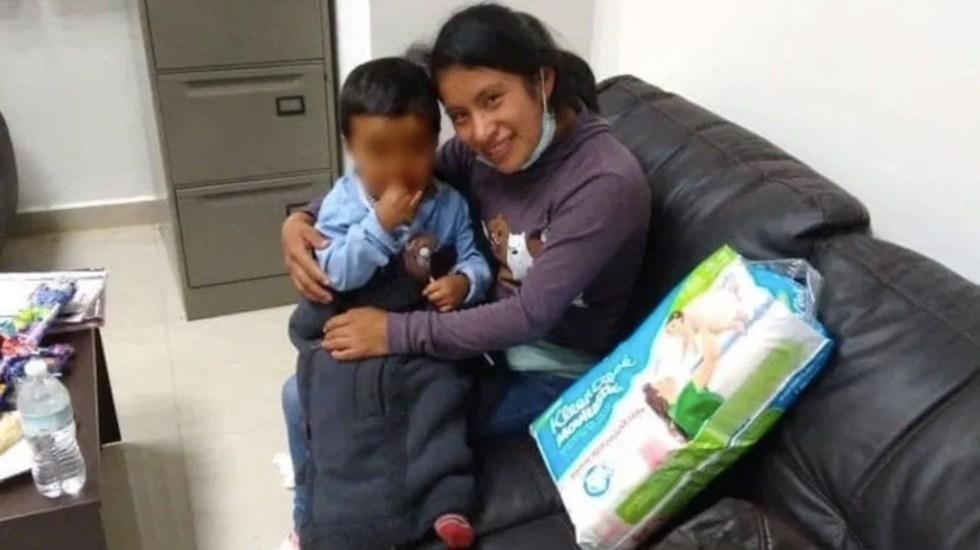 Localizan al niño Dylan en Cintalapa, Chiapas - Foto de Noticieros Televisa