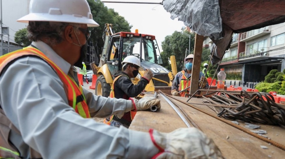 Tras paralización por la pandemia, regresaron a sus puestos de trabajo 7.2 millones de mexicanos, confirma el Inegi - Foto de Twitter Claudia Sheinbaum