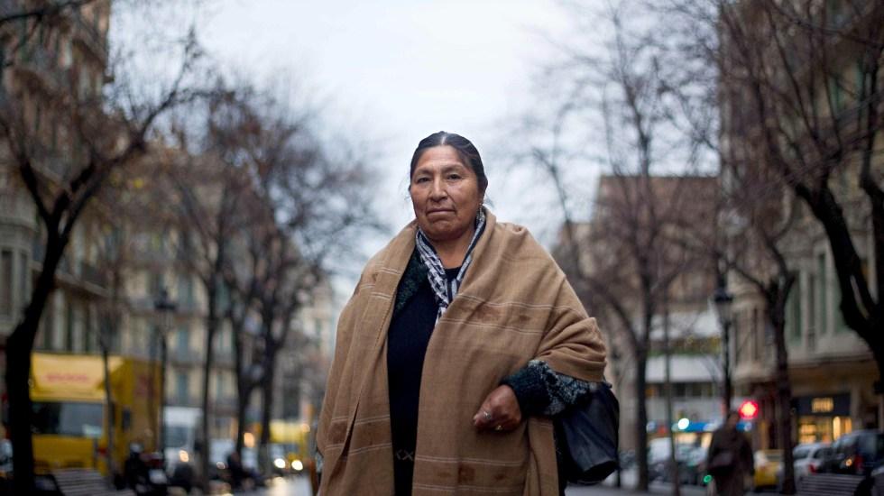 Murió Esther Morales, hermana de Evo Morales - Esther, hermana de Evo Morales. Foto de EFE / Archivo