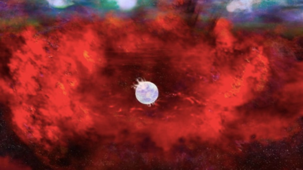 Científicos confirman teoría de investigador de la UNAM sobre la existencia de una estrella de neutrones - Foto de The Astrophysical Journal