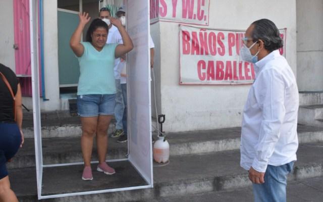 Instala gobierno de Guerrero 60 filtros sanitarios por COVID-19 - Foto de @HectorAstudillo