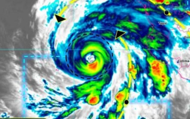 Huracán Genevieve se aproxima al sur de la Península de Baja California - Genevieve Conagua huracán