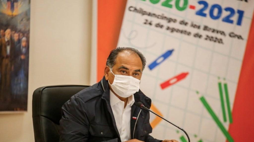 Héctor Astudillo encabeza ceremonia virtual de regreso a clases en Guerrero - Foto de Twitter Héctor Astudillo