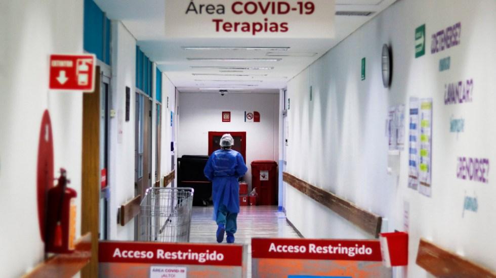 #EnVivo En las últimas 24 horas, en México se registran 5 mil 674 casos nuevos y 421 decesos por COVID-19 - Vista general del área COVID-19 en el Hospital Juárez, en Ciudad de México. Foto de EFE
