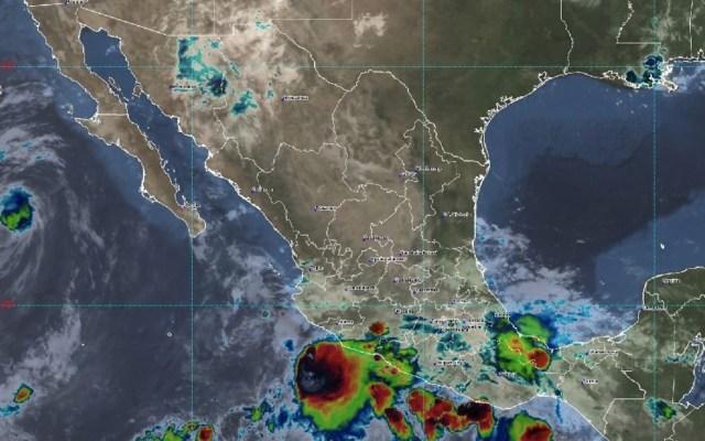 Huracán 'Elida' baja a categoría 1 y se debilita gradualmente en el Pacífico - Foto de SMN