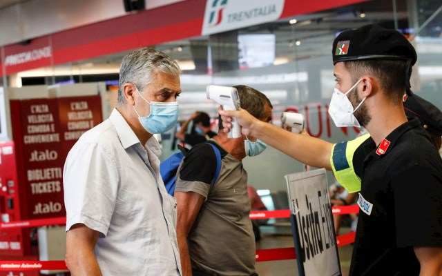 Contagios de COVID-19 continúan en aumento en Italia - Italia COVID-19 coronavirus pandemia epidemia