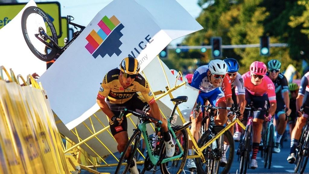 Ciclista sale de coma tras sufrir accidente en la Vuelta de Polonia - Foto de EFE
