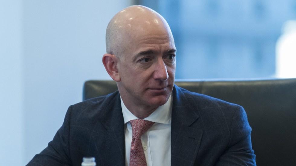 Jeff Bezos, presidente de Amazon, acumula fortuna de más de 200 mil mdd - Jeff Bezos, presidente de Amazon. Foto de EFE