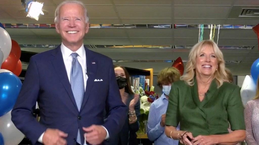 Joe Biden es oficialmente candidato demócrata a la Presidencia de Estados Unidos - Joe Biden