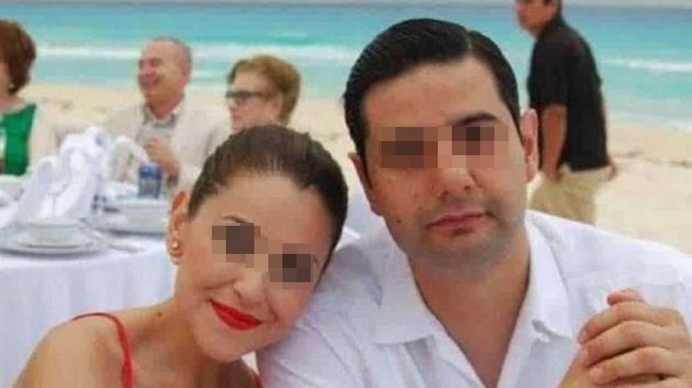 Dan prisión preventiva a sujeto implicado en asesinato de juez Uriel Villegas - Juez Uriel Villegas y su esposa Verónica. Foto de El Horizonte