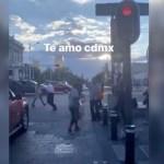 #Video Bailan 'La Chona' en calles del Centro Histórico de la CDMX