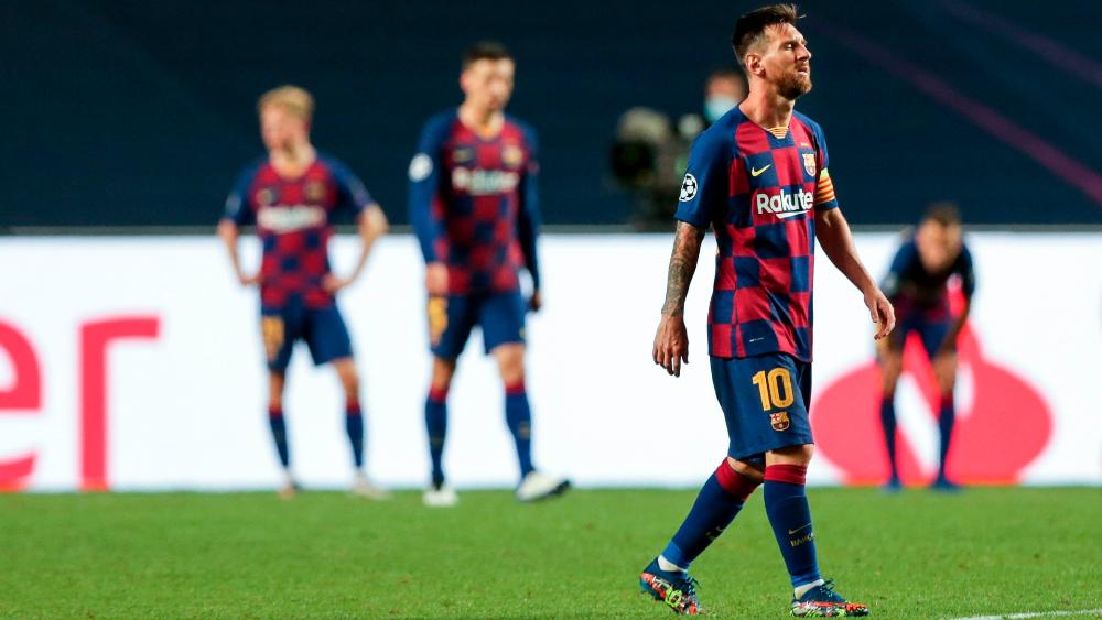 Messi le dice a Koeman que se ve más fuera que dentro del Barça, afirma prensa catalana - Foto de EFE