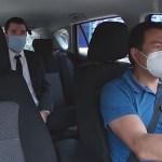 #Video Mario Delgado se hace pasar por conductor; conoce opinión de la gente sobre Morena y la 4T