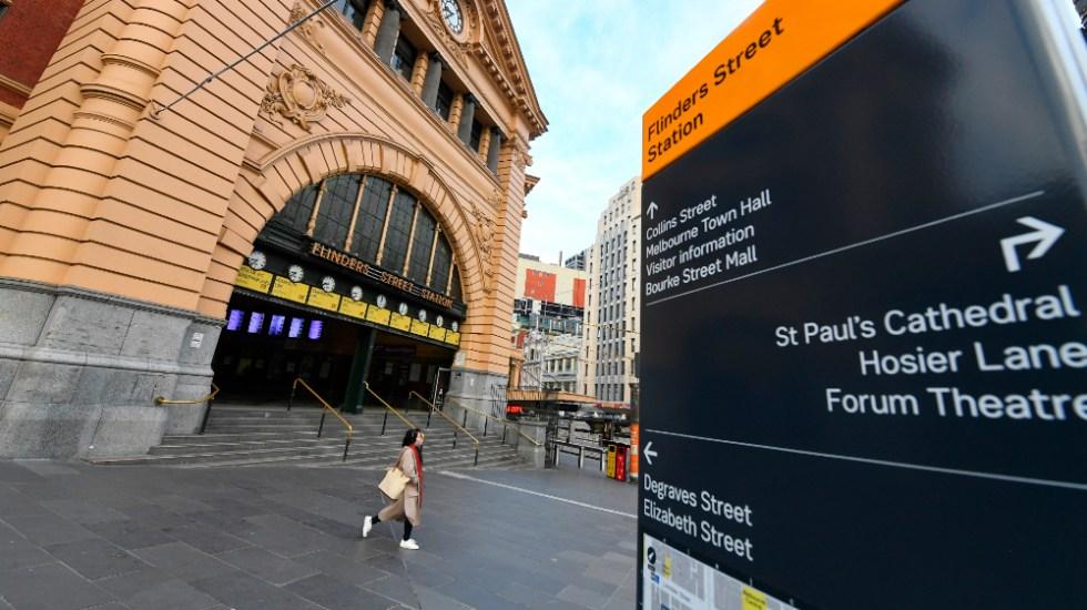 Australia impone toque de queda en Melbourne para frenar rebrote de COVID-19 - Foto de EFE