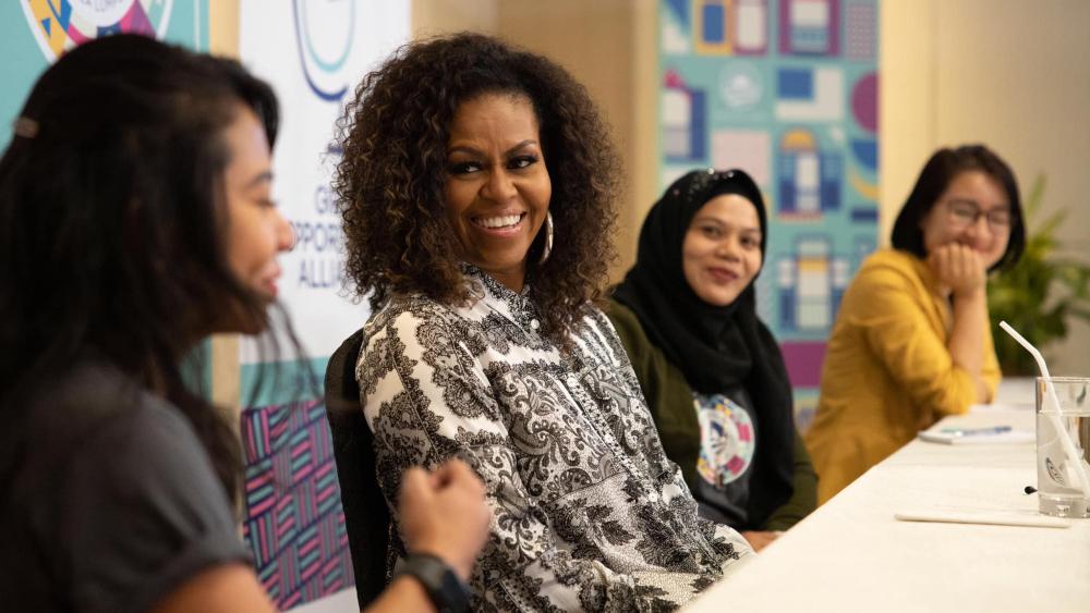 "Michelle Obama sufre de ""leve depresión"" por pandemia - Foto de Michelle Obama"