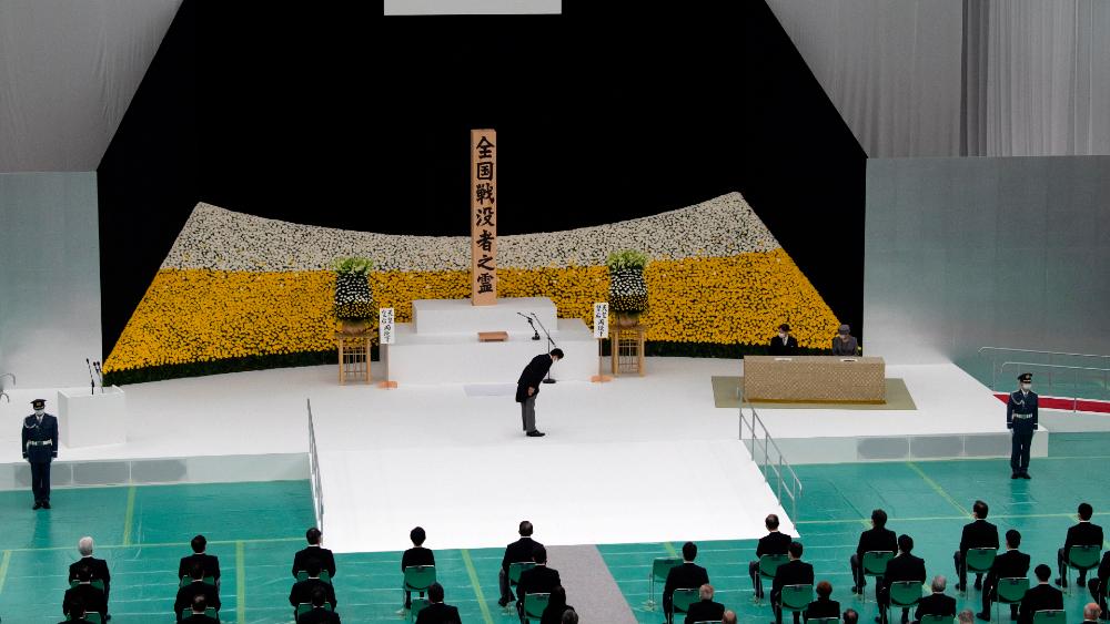 """Naruhito y Abe piden """"no repetir"""" los estragos de la Segunda Guerra Mundial en 75 aniversario - Foto de EFE"""