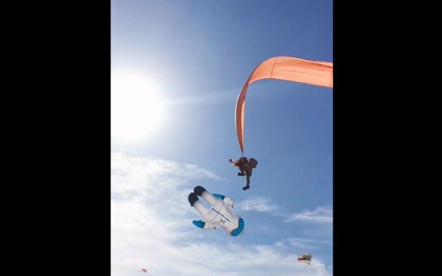#Video Cometa sacude a niña en el aire por medio minuto - Niña Taiwán aire
