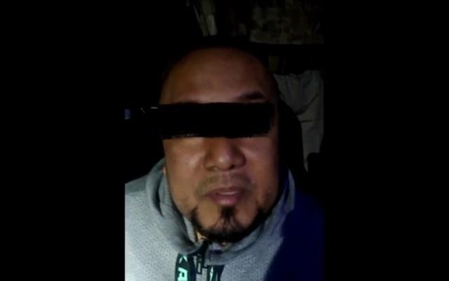 #Video Primer interrogatorio a 'El Marro' tras ser detenido - Primer interrogatorio a El Marro tras su detención. Foto de Noticieros Televisa