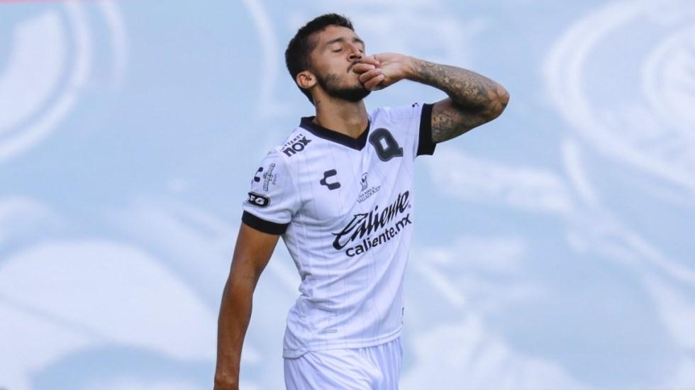 Cruz Azul pierde el invicto ante Gallos Blancos de Querétaro - Querétaro Cruz Azul partido futbol Liga MX 12082020