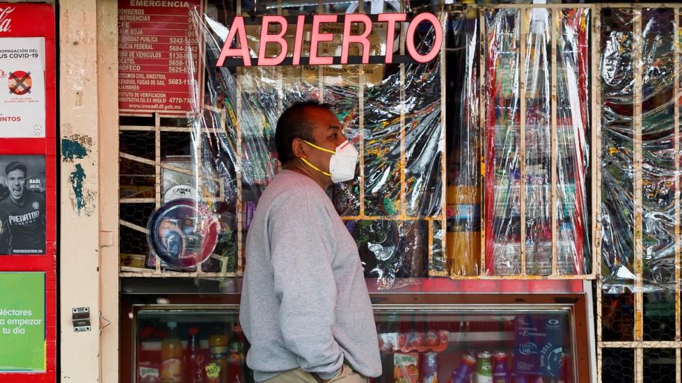 """Economía baja tras dos meses de """"nueva normalidad"""" en México - Reapertura económica en la Ciudad de México. Foto de EFE"""