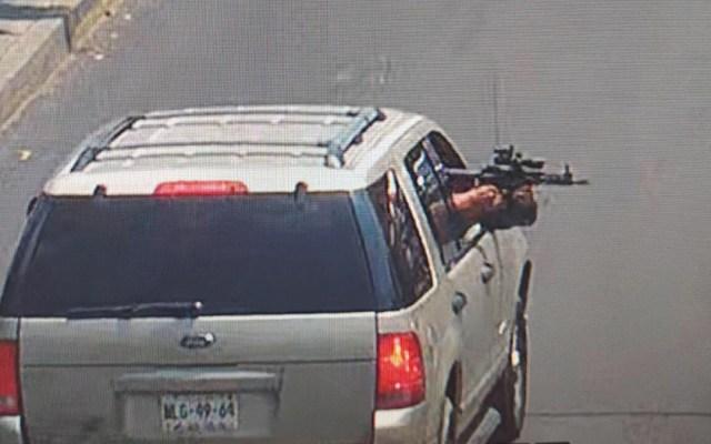 Balacera en Iztapalapa deja 3 heridos; hay tres detenidos - Sujetos armados en la alcaldía Iztapalapa. Foto Especial