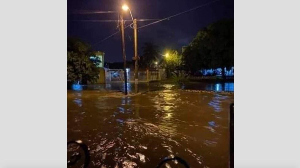 Lluvias dejan afectaciones en ocho municipios de Veracruz - Foto de @XalapaNacional