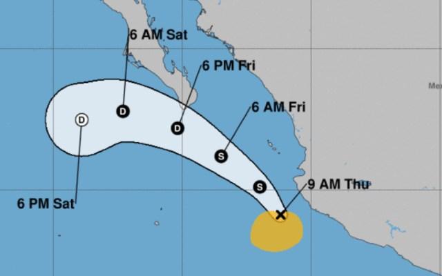 Tormenta tropical Hernan propicia lluvias torrenciales en Pacífico mexicano - Foto de NOAA