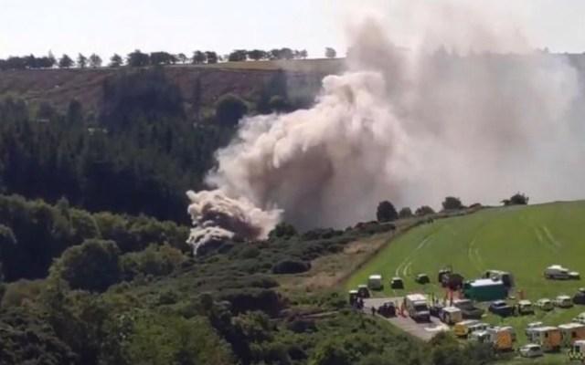 Descarrilamiento de tren deja al menos tres muertos en Escocia - Foto de BBC