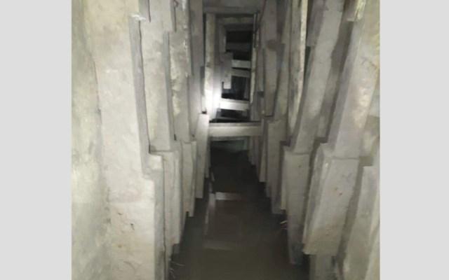 Militares encuentran túnel en Tamaulipas, muy cerca de la frontera con EE.UU. - Foto de @Tamaulipasrtc1
